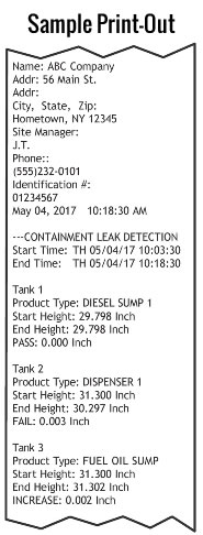 Omntec sump tester price list
