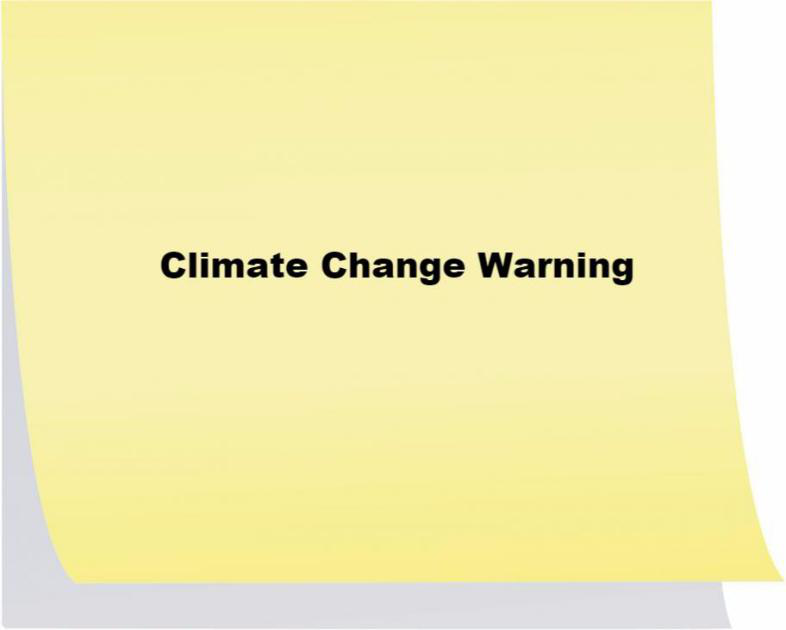 Climate Change Warning Labels at Gas Stations
