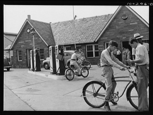 Gas Stations that Rented Bicycles