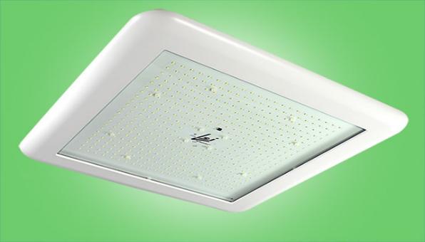 LSI canopy lighting fixture