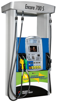 The purchase of a fuel dispenser