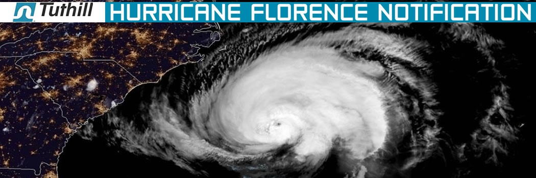 From Tuthill Transfer Systems: Hurricane Florence Notification