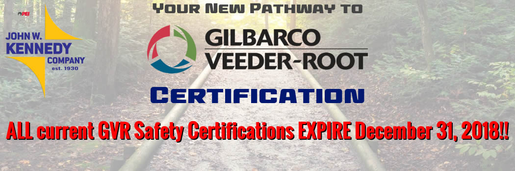 URGENT: ALL current GVR Safety Certifications will expire December 31, 2018 – Take Action Now To Stay Certified!!