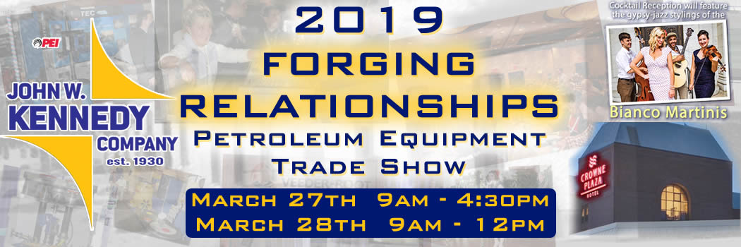 "2019 John W. Kennedy Company ""Forging Relationships"" Trade Show Dates and Training Certification Schedule Announced"