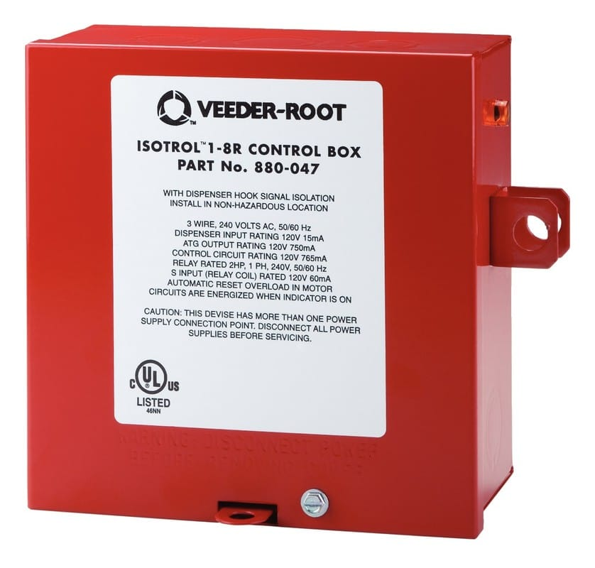 Red Jacket Control Box