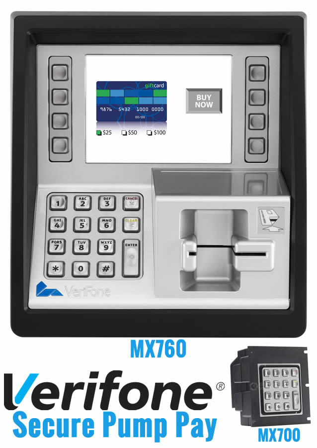 Verifone MX760 & MX700 Secure Pump Pay