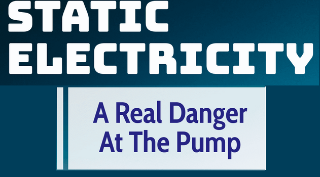 Static Electricity – A Real Danger At the Pump [Infographic]