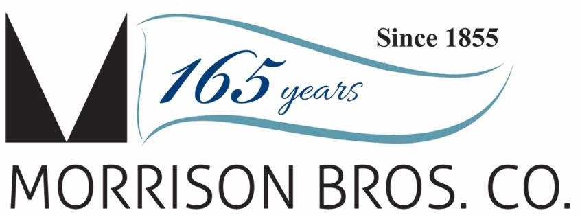Morrison Borthers 165 Years Logo