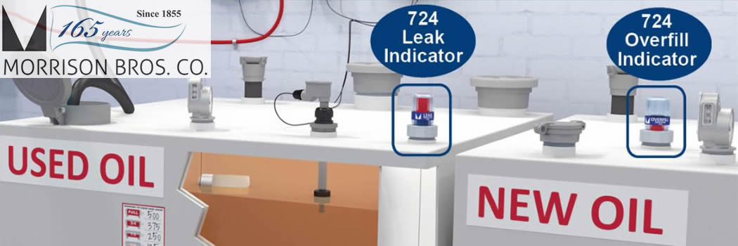 Morrison Brothers Introduces New Leak & Overfill Indicators