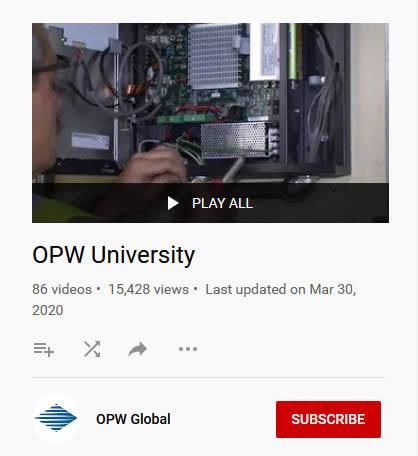 OPW University on YouTube