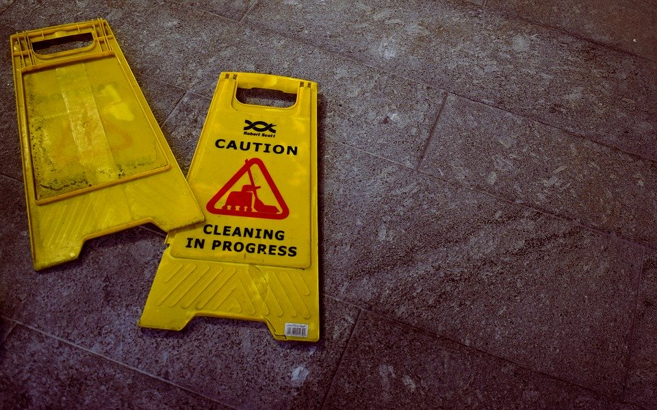 Sweep the floors