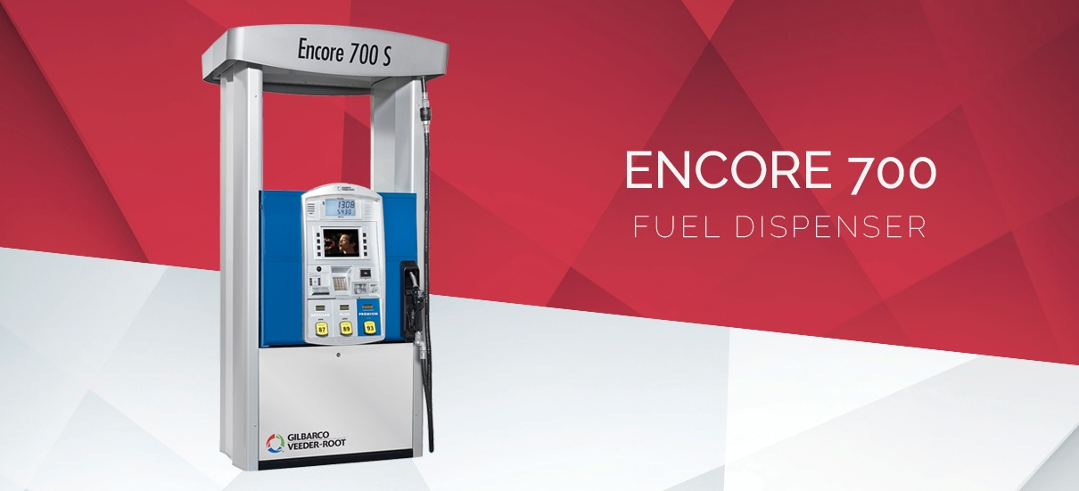 Increase Profits by Installing ENCORE-700S Gilbarco at Your Gas Station