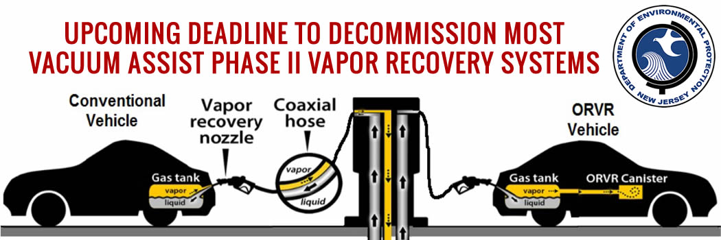 New Jersey DEP Compliance Advisory – Phase II VR Systems Decommissioning