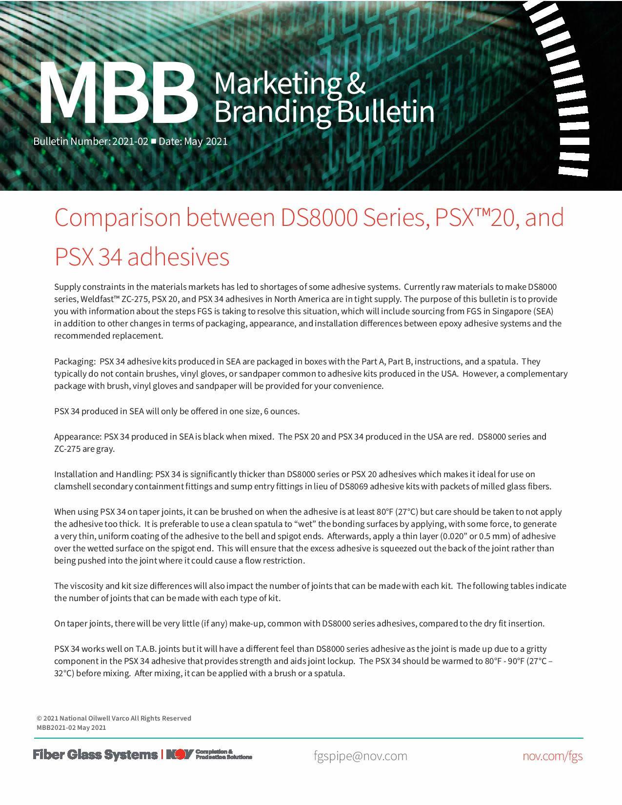 NOV Marketing & Branding Bulletin Page 1